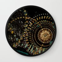 gypsy Wall Clocks featuring Gypsy by Sherri of Palm Springs   Art and Design