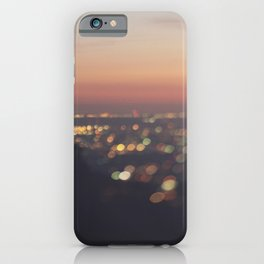 Los Angeles Photograph. Everyone's A Star No.2 iPhone Case