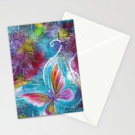 Blossom Like a Butterfly   Mimi Bondi Stationery Cards