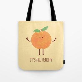 All Peachy Tote Bag