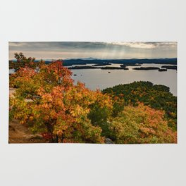 Autumn colors in New Hampshire Rug