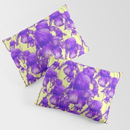 I LOVE PURPLE IRIS Pillow Sham