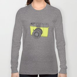 Diana F+ Glow - Plastic Analogue Camera Long Sleeve T-shirt