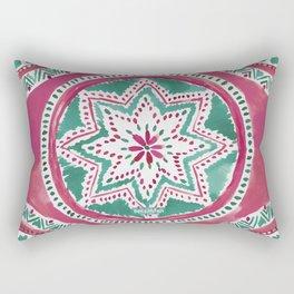 Holiday MIGHTY MEDALLION Mandala Rectangular Pillow