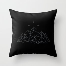 The Night Court insignia from A Court of Frost and Starlight Throw Pillow