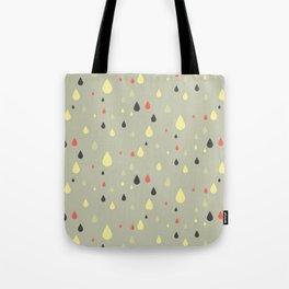 retro raindrops Tote Bag