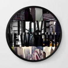 I Love New York [city] Wall Clock
