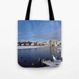 Reykjavik - Tjornin Tote Bag