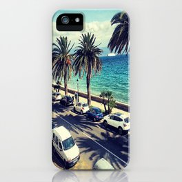 Palm trees from France  iPhone Case