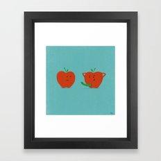 Bad Apple Framed Art Print
