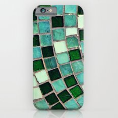 Green Tiles - an abstract photograph Slim Case iPhone 6