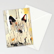 Written in Kitten Stationery Cards
