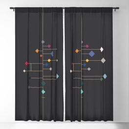 winter equinox Blackout Curtain