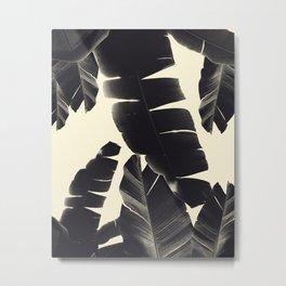 Banana Leaves Summer Vibes #4 #tropical #decor #art #society6 Metal Print
