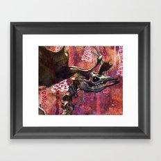 Elk Blossom Framed Art Print