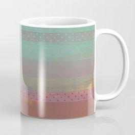 391 12 Dark Pastel Stripes Coffee Mug