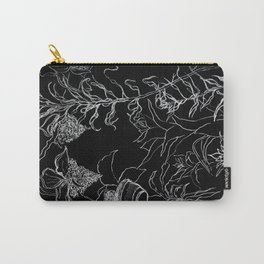 Tree leaves, nature, graphic art Carry-All Pouch