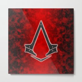 Creed Assassin Metal Print
