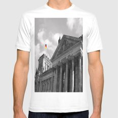Reichstag Mens Fitted Tee White MEDIUM