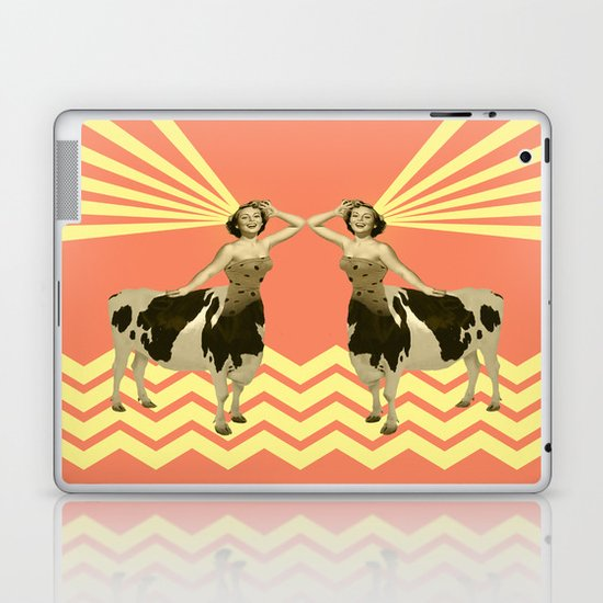The real girly cow girl Laptop & iPad Skin