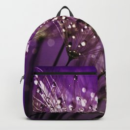Violet Dewdrops Backpack