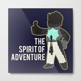 The Spirit of Adventure Metal Print