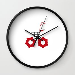 trolly Wall Clock