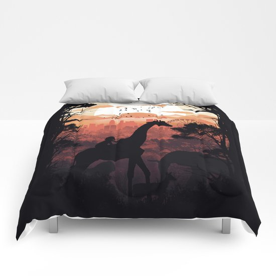 From City to Jungle Comforters
