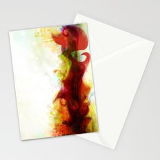 Abstract Splats by Friztin Stationery Cards