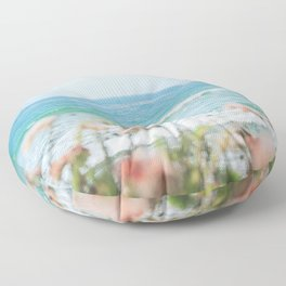 Seablush Floor Pillow
