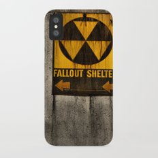 Fallout Shelter Slim Case iPhone X