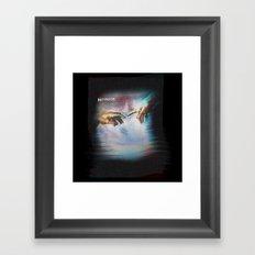 pause Framed Art Print