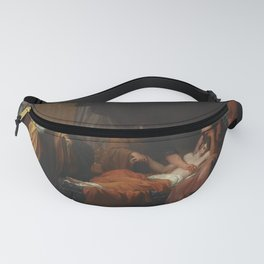 Benjamin West - Erasistratus the Physician Discovers the Love of Antiochus for Stratonice Fanny Pack