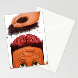 Brains Out Stationery Cards