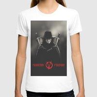 vendetta T-shirts featuring V for Vendetta (e2) by Ezgi Kaya