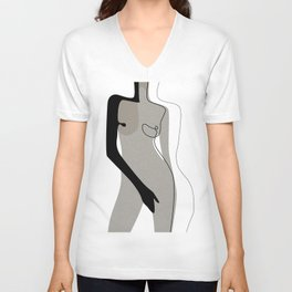 Cover Yourself Unisex V-Neck