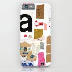 Paper Trail I  iPhone 6 Slim Case
