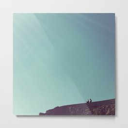 ruminations at the edge of the world Metal Print