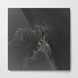 above it all - dark Metal Print