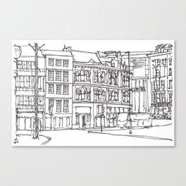 Sandhill, Newcastle Upon Tyne Canvas Print