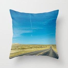 Keep Going Throw Pillow