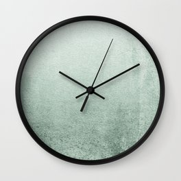 FADING GREEN EUCALYPTUS Wall Clock
