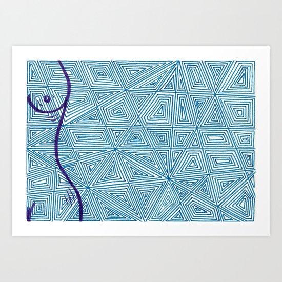4x6-7 Art Print