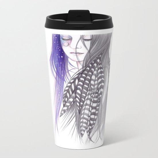 New Moon Metal Travel Mug