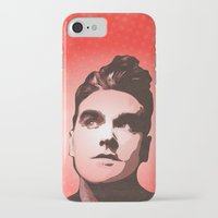 smiths iPhone & iPod Cases featuring The Smiths - This Charming Man - Pop Art by William Cuccio aka WCSmack