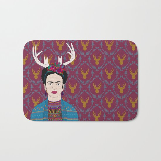 DEER FRIDA Bath Mat
