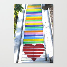 Micheltorena Stairs Canvas Print