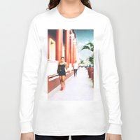 sandra dieckmann Long Sleeve T-shirts featuring Sandra by bryantwashere