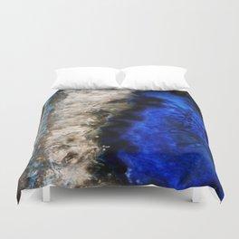 Blue Geode Duvet Cover