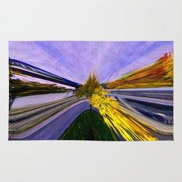 Abstracting Autumn Rug